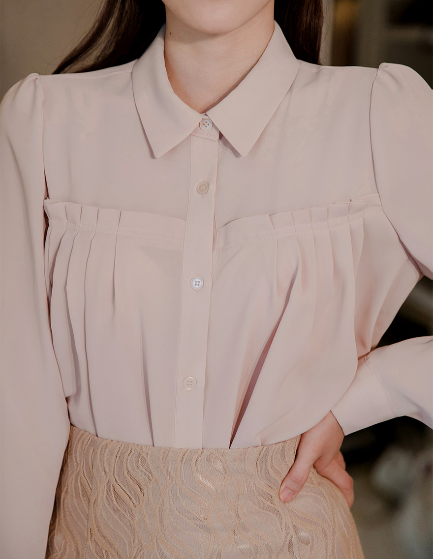 달리호텔 / Romantic Frill Blouse