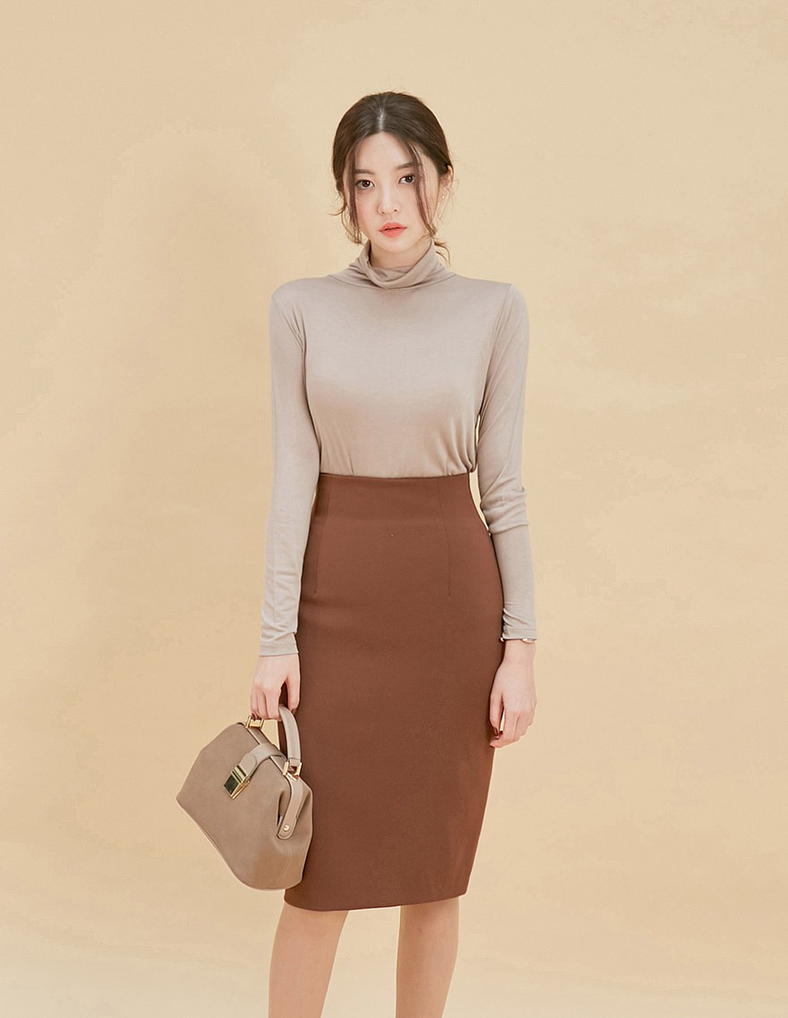달리호텔 / Elegant Colored Pencil Skirt