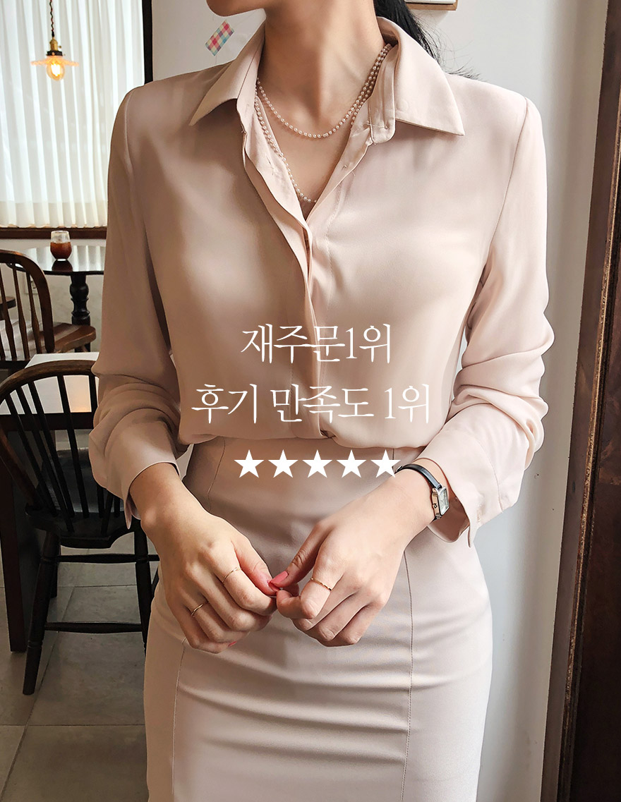 달리호텔 / Essential Collar Blouse