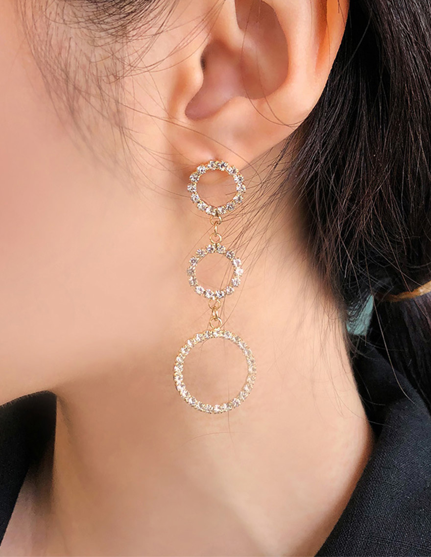 달리호텔 / Three Circle Earring