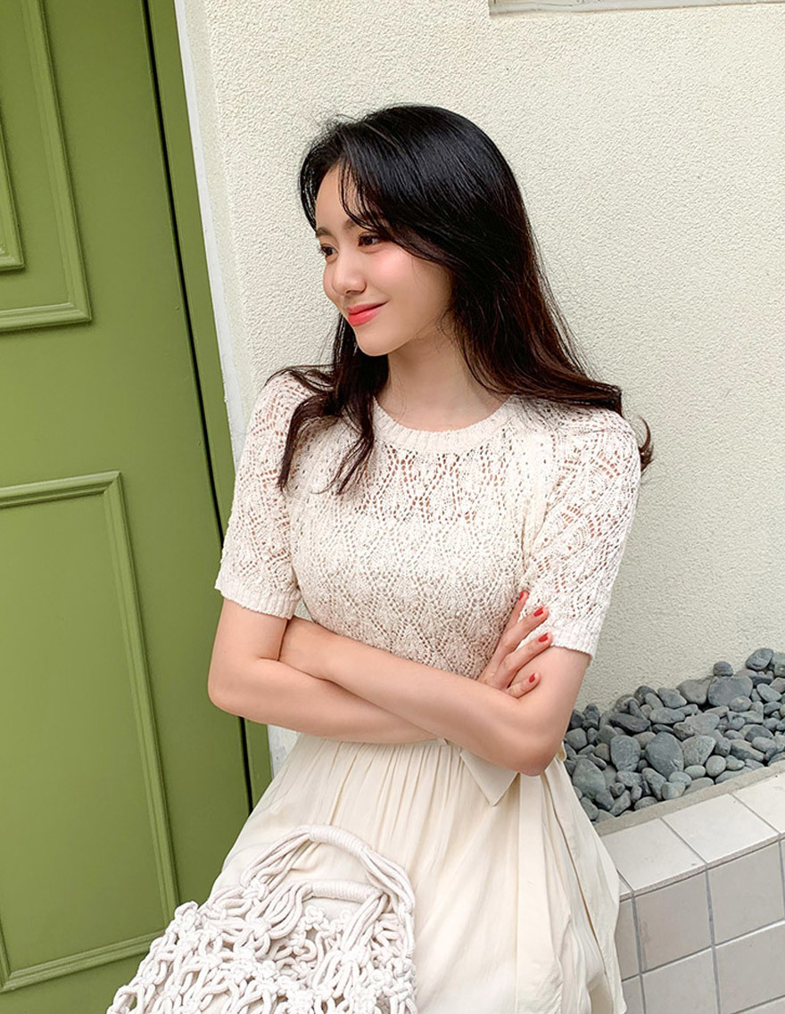 달리호텔 / Paris Summer Knit Top