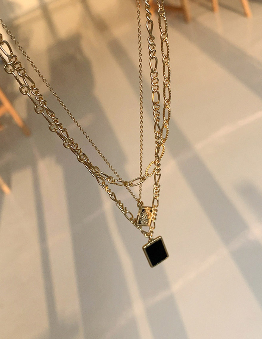 달리호텔 / Glory Layering Chain Necklace