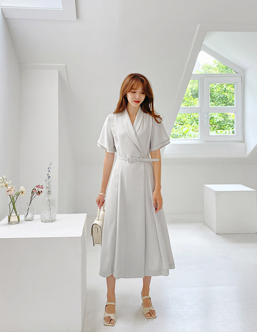 달리호텔 / Summer Hera Layered Sleeve Dress_H65098