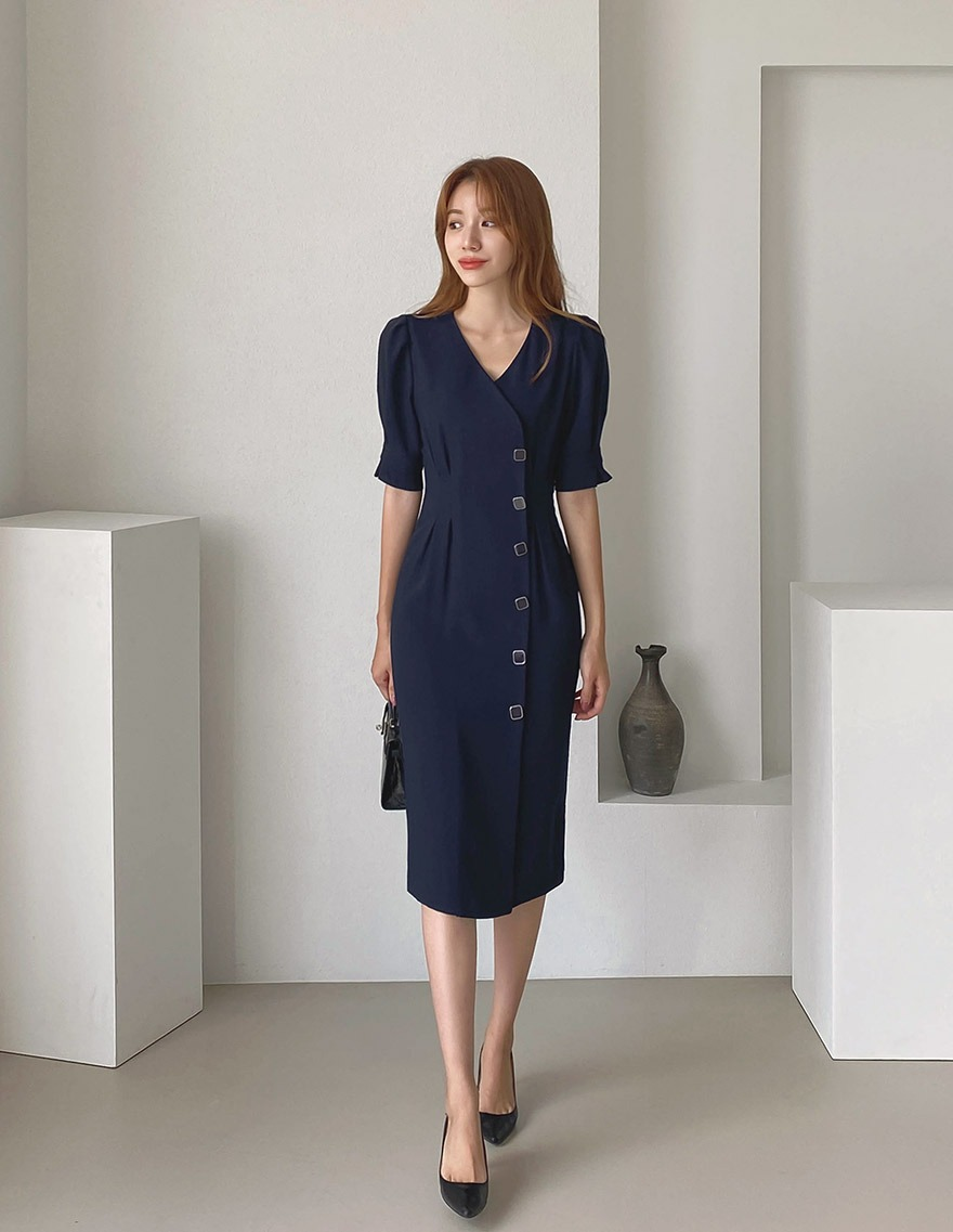 달리호텔 / Agrafe Volume Dress_H65606