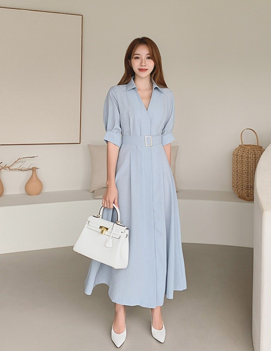 달리호텔 / Alice Shirt Maxi Dress_H65624