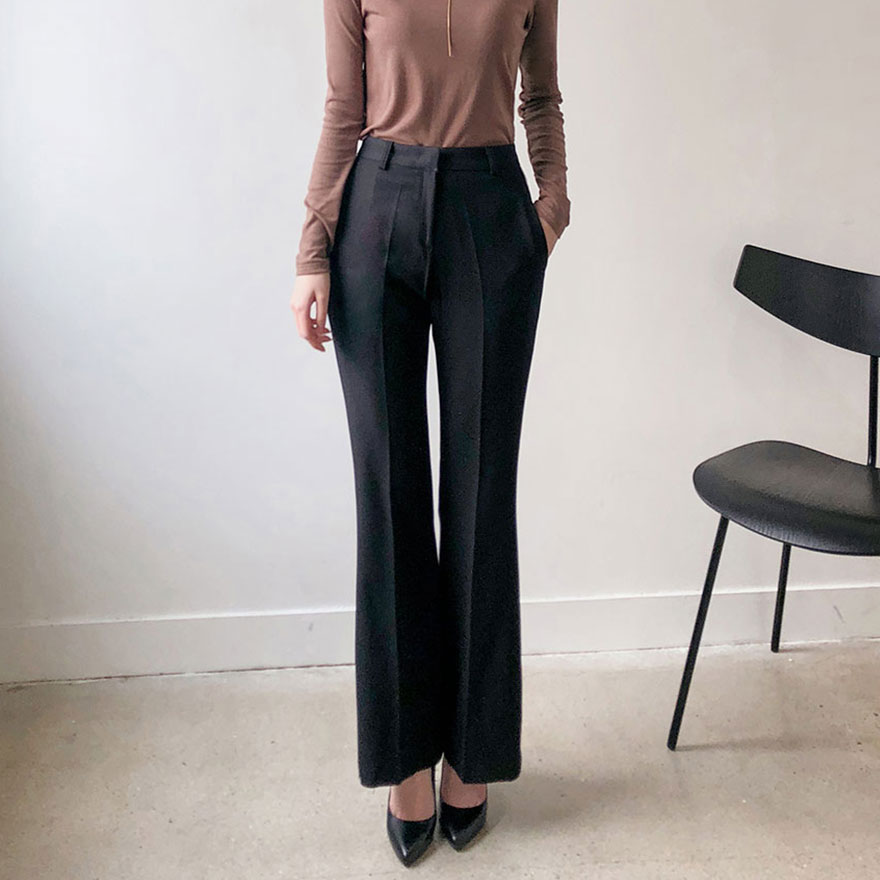 [CHUU] Modern Mood Slacks