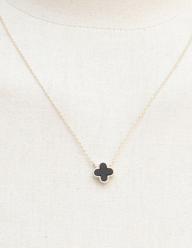 달리호텔 / Mini Clover Necklace
