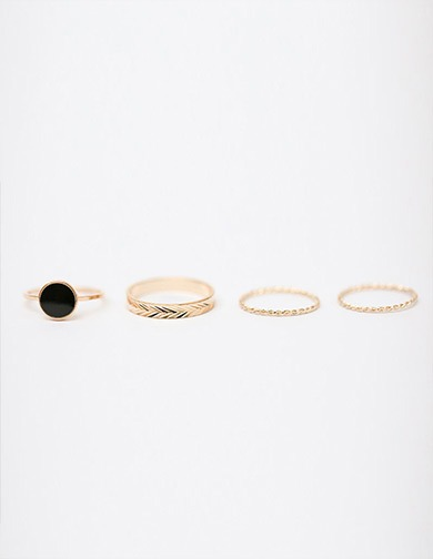 Circle Point Ring Set, 달리호텔