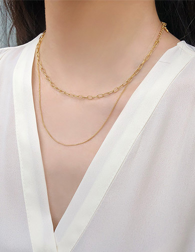 달리호텔 / Two Line Necklace