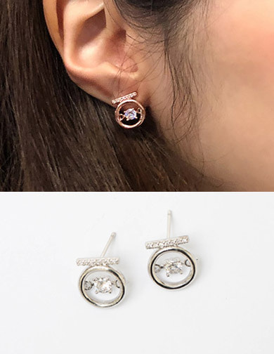 달리호텔 / Holiday Cubic Earring