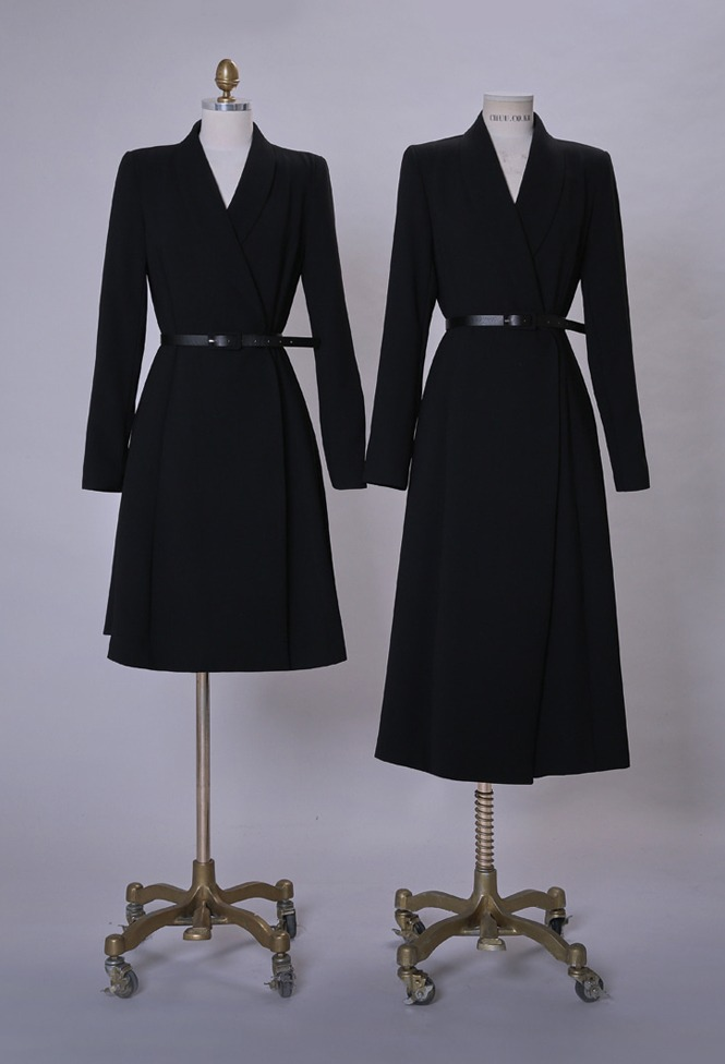 달리호텔 / Hera Shawl Collar Jacket Dress BLACK_H60556