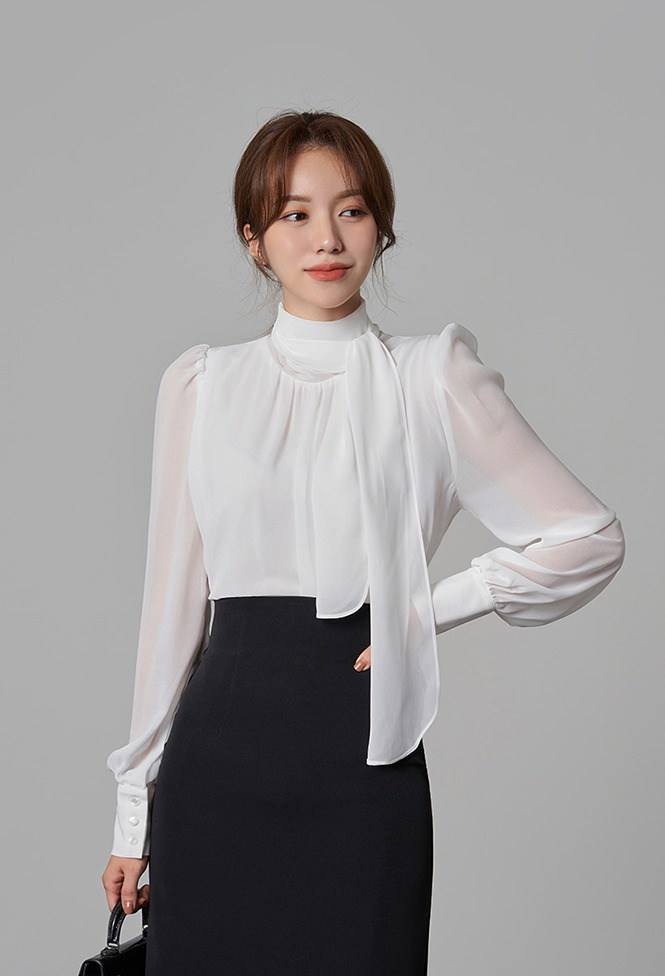 달리호텔 / Sezane Sheer Blouse_H65828